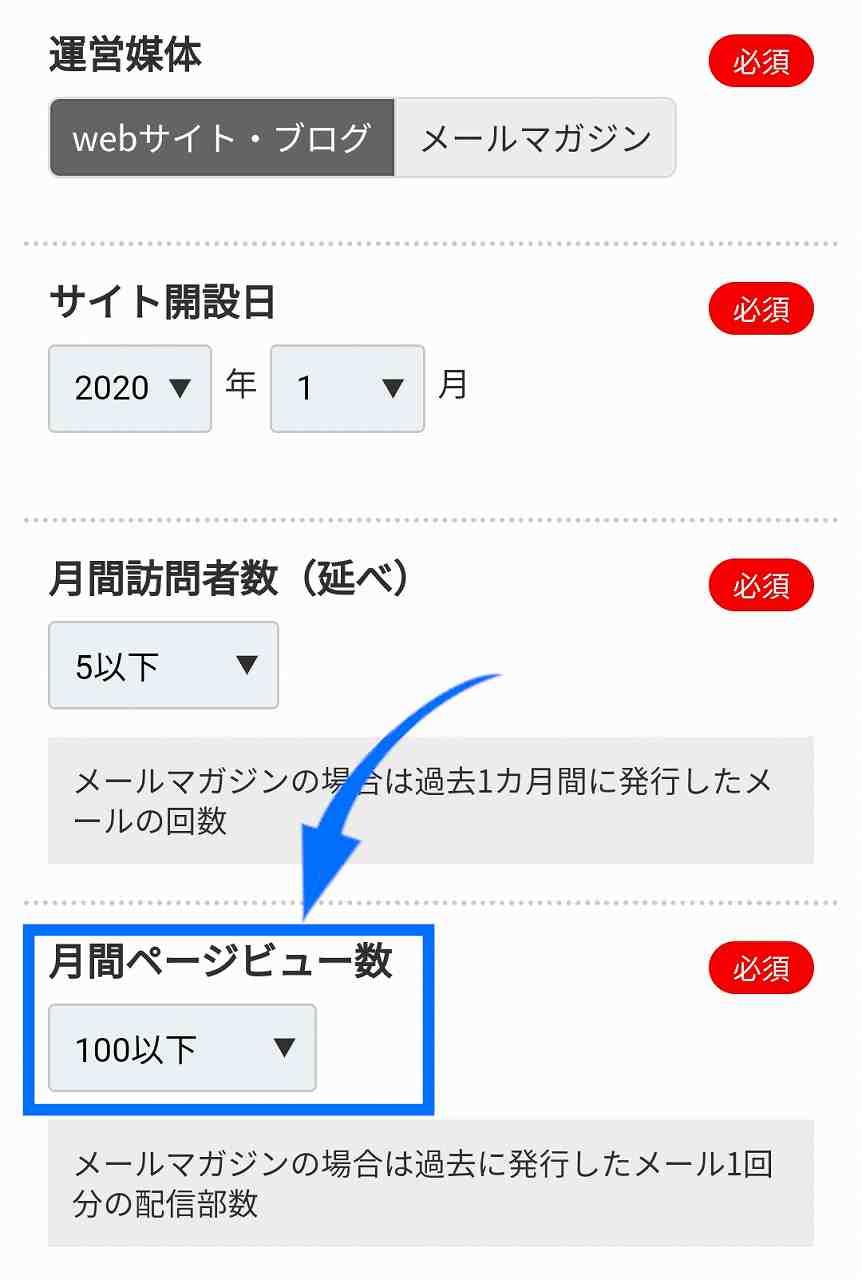 A8.netの登録方法12A8.netのサイトの月間PV数