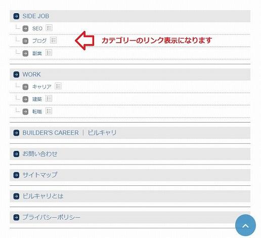 PS Auto Sitemapの投稿を分割を選択した場合のサイトマップ画面
